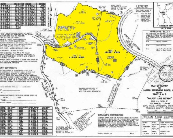 Philpott Lake  Lot 3 &4 & 5 Preliminary Plat 2 copy